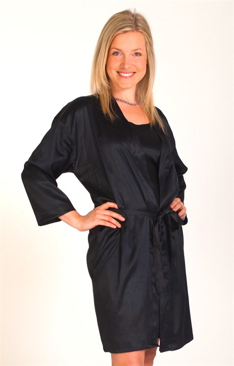4304980293d4 Luxurious Satin Silk Robe