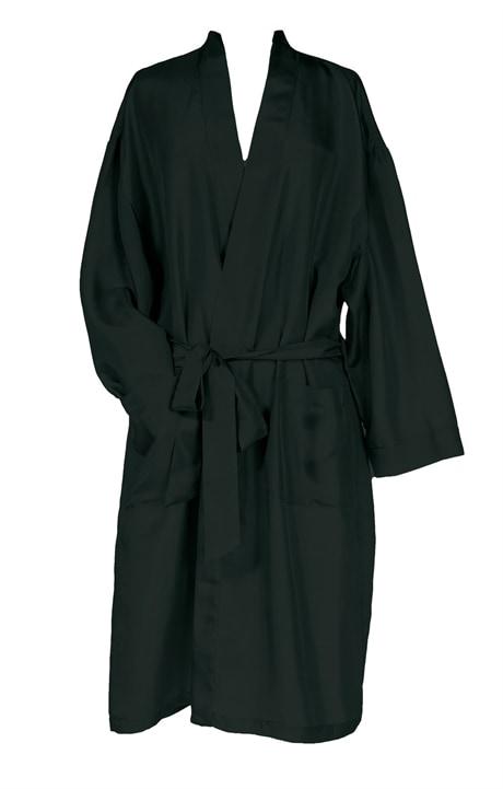 Silk Robe, black