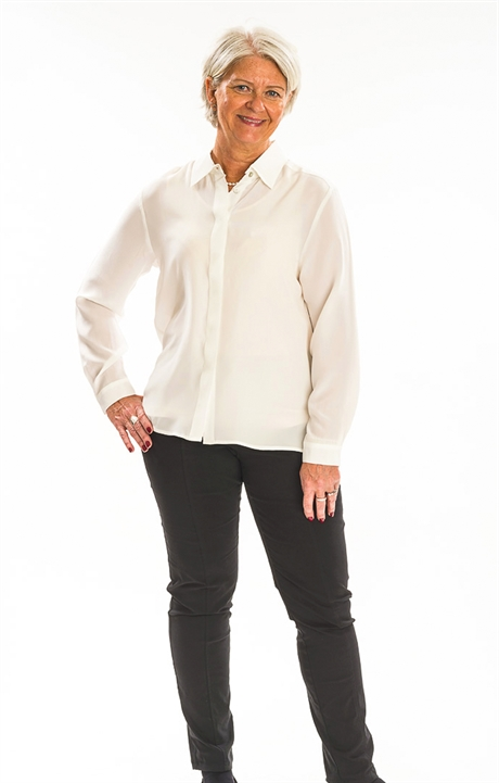 451264d6efb2 Silk Shirt Lady Skin friendly naturals
