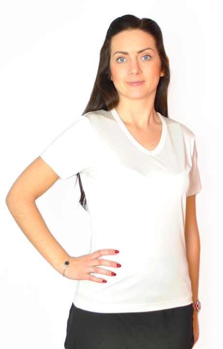 33b7fb4a9f53f Ladies Silk T-Shirt